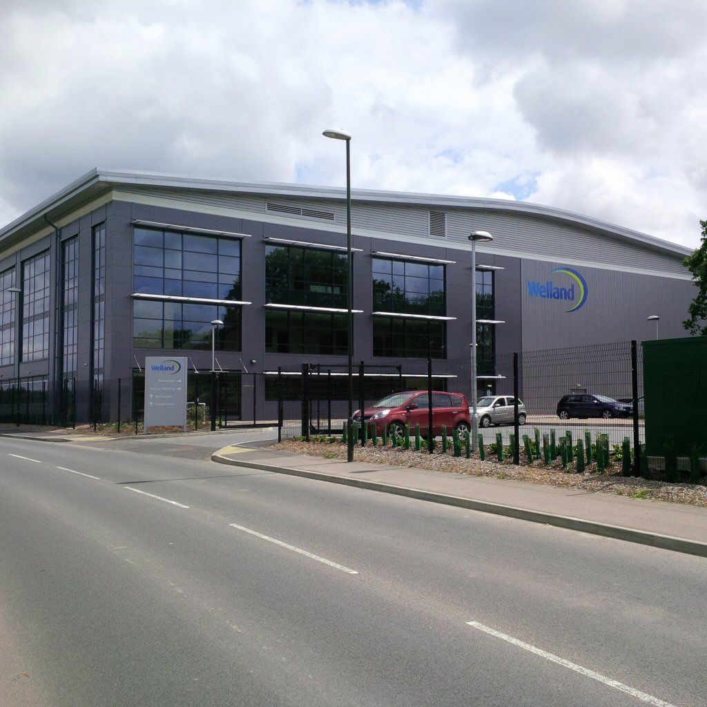 "<span class=""photo-caption"">Welland Medical's New HQ (Completed: Summer 2015)</span>"