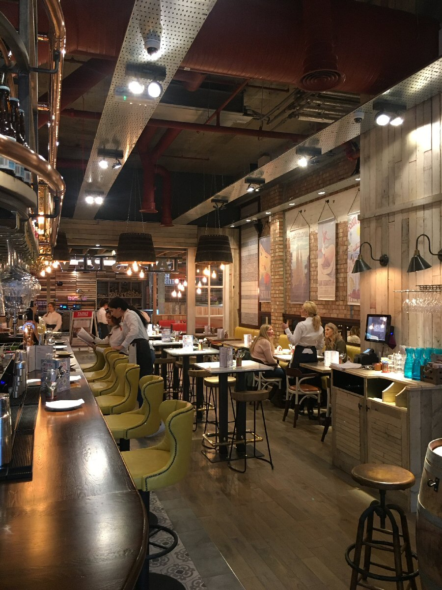 Restaurants:  Tapas Revolution, Newcastle